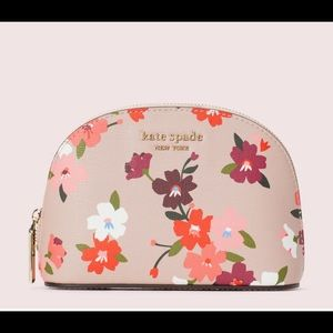 Kate Spade Spencer Floral Small Dome Cosmetic Case